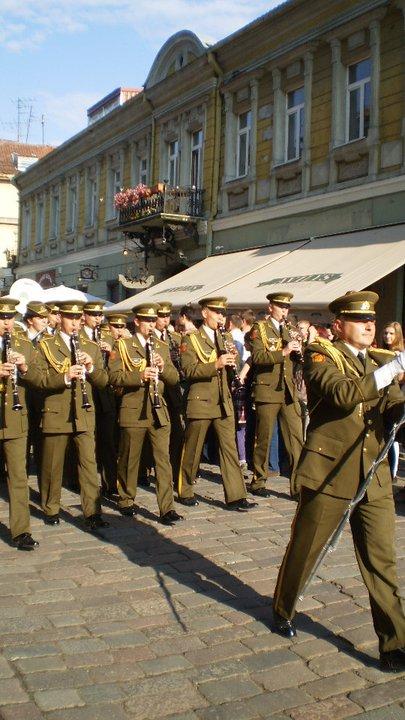Parade in Kaunas, Lithuania