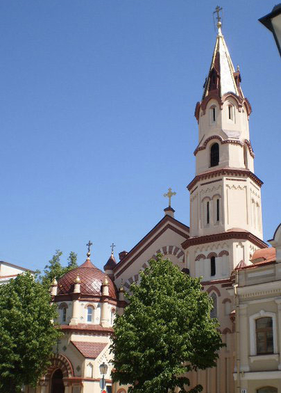 Church in Vilnius, Lithuania