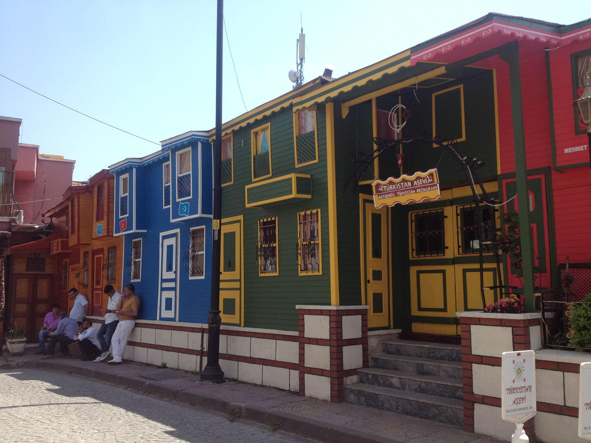 Istanbul, Turkey, Colorful Houses
