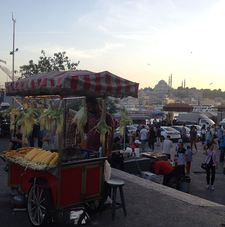 Istanbul, Turkey, Street Food