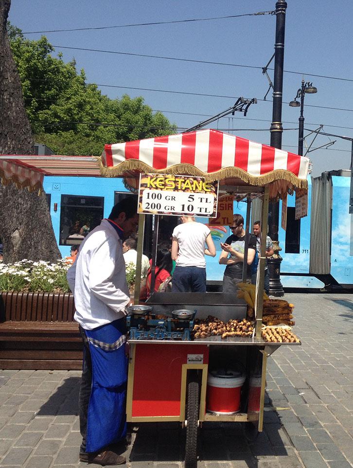 Istanbul, Turkey, Street Vendor