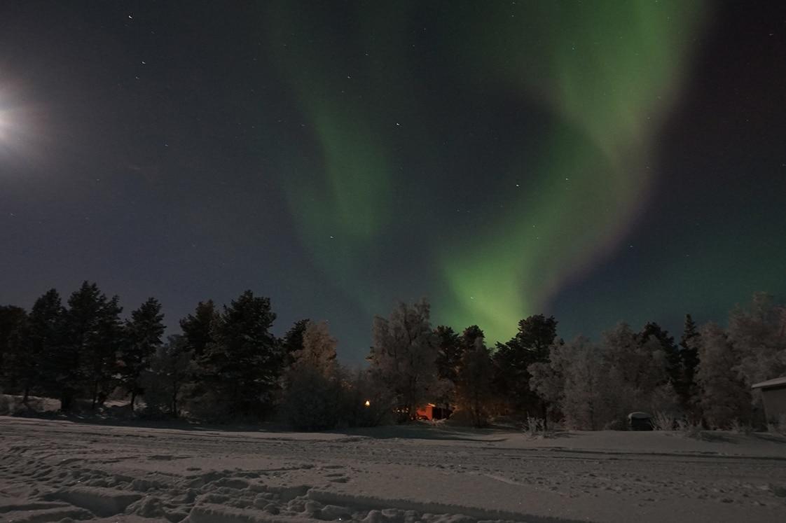 northern lights lapland